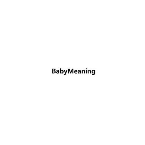 BABYMEANING